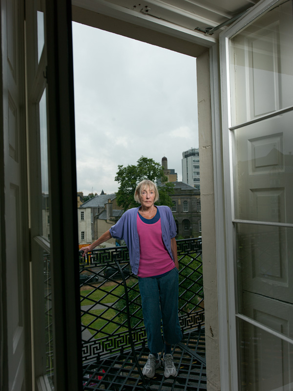 Tina Picton Phillipps, Southside Resident Southsiders: Portrait of a Community is an artistic project by Peter Dibdin using both photography and audio, in print and online to celebrate and explore perceptions around the identity of the Southside community of Edinburgh, Scotland. All 32 portraits and their audio narratives can be viewed at http://www.edinburghsouthsiders.co.uk