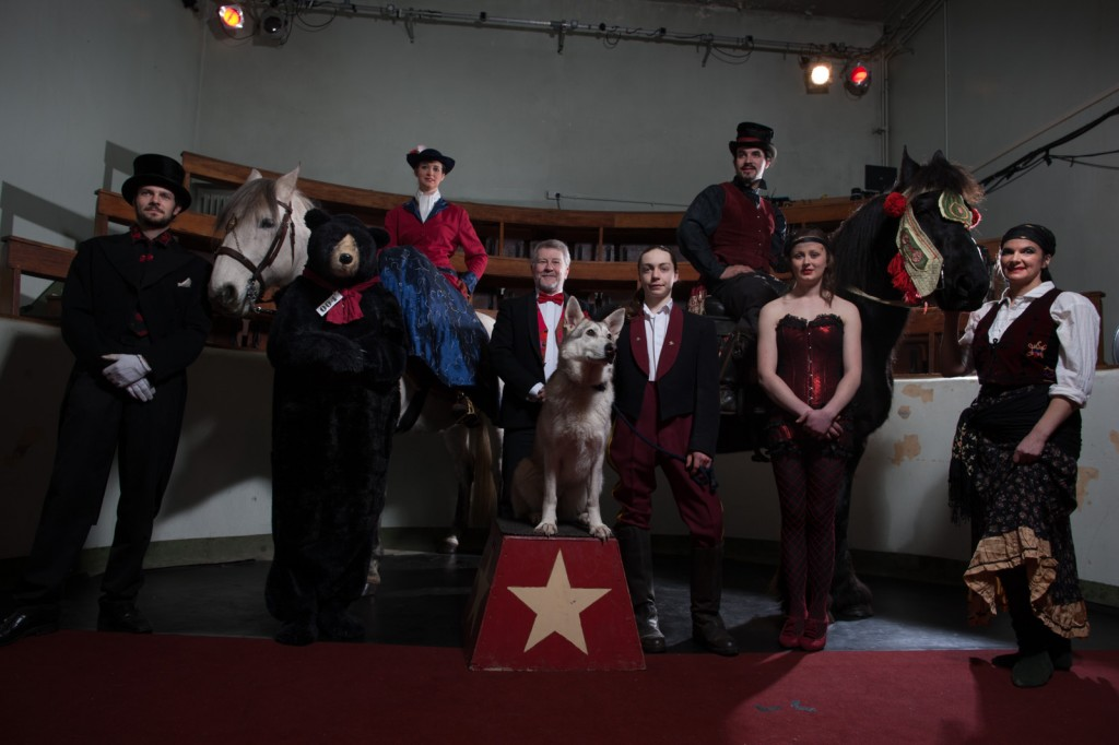 Vintage Cabaret Les Amis d'Onno Equine in the Demonstration Room at Summerhall, Edinburgh by Peter Dibdin Photographer
