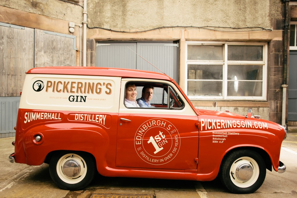 Pickerings Gin Product Photography by Peter Dibdin at Summerhall
