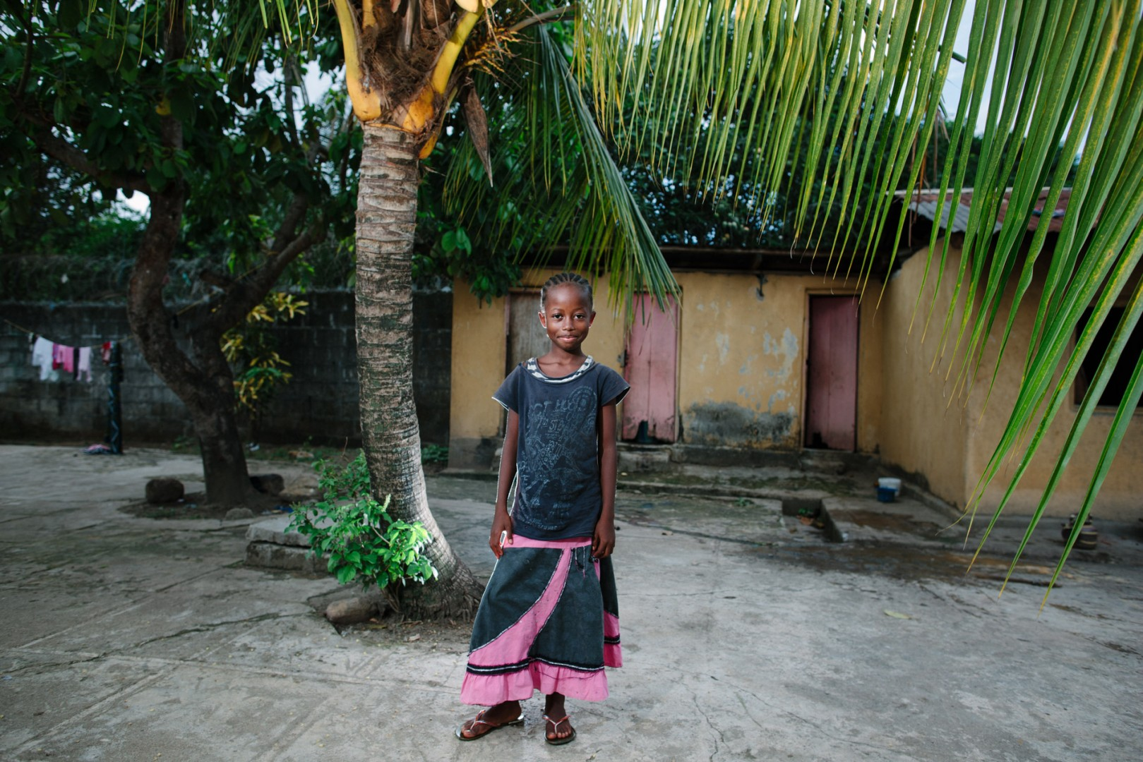 Mariama Shaw, student at Swawou School.