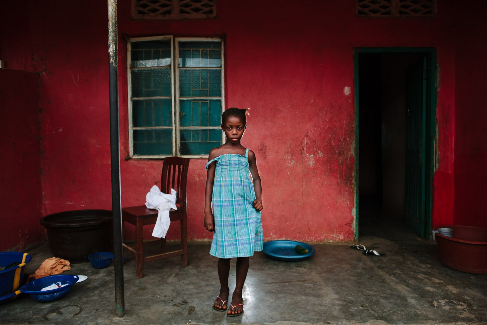 Hawa Soyoh, student at Swawou School