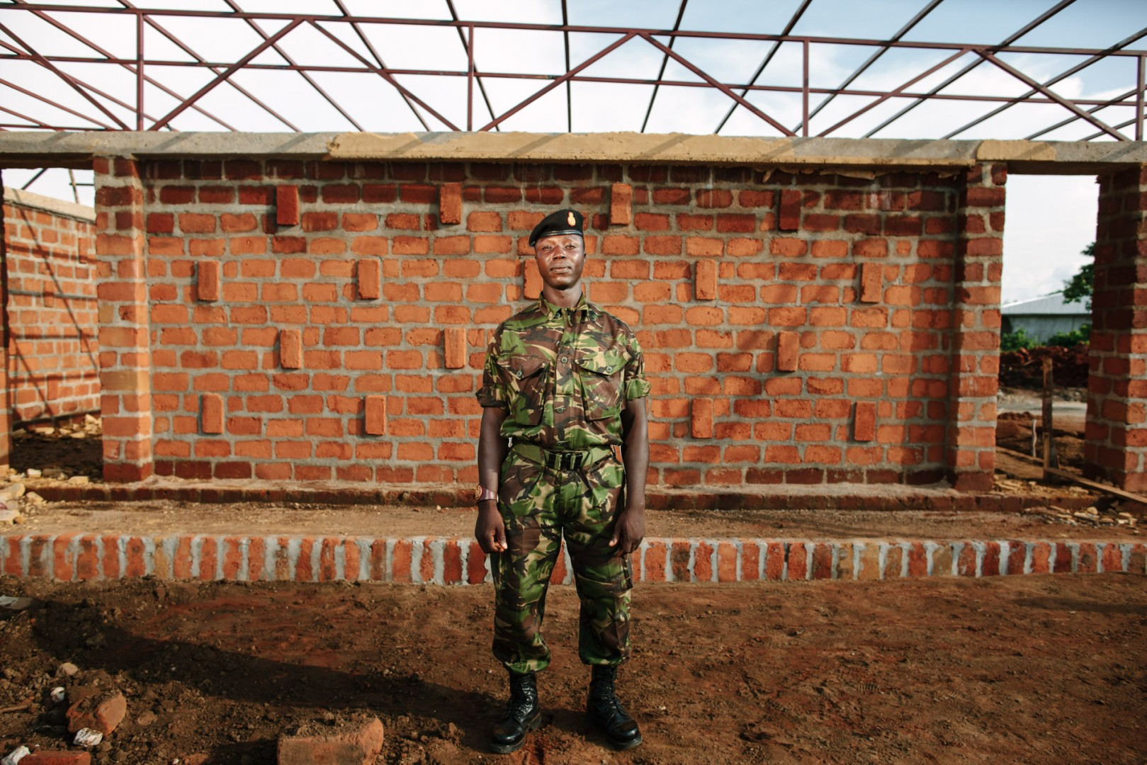 WO II Baibureh Kamara, Being an engineer Baibureh took a keen interest in the build, learning new techniques and passing on his own knowledge.