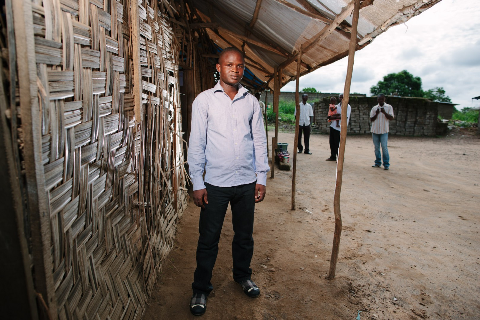 Musa Konneh, Child Support worker for the Swawou School Foundation